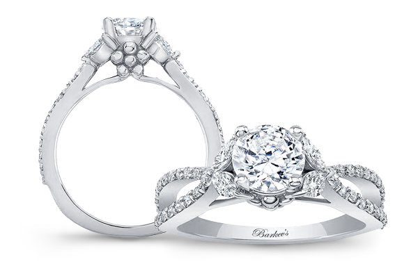 Barkev's Moissanite Engagement Rings