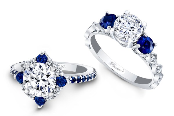 Saphire engagement rings