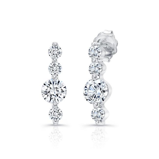 Diamond Earrings 5863ER Image 1