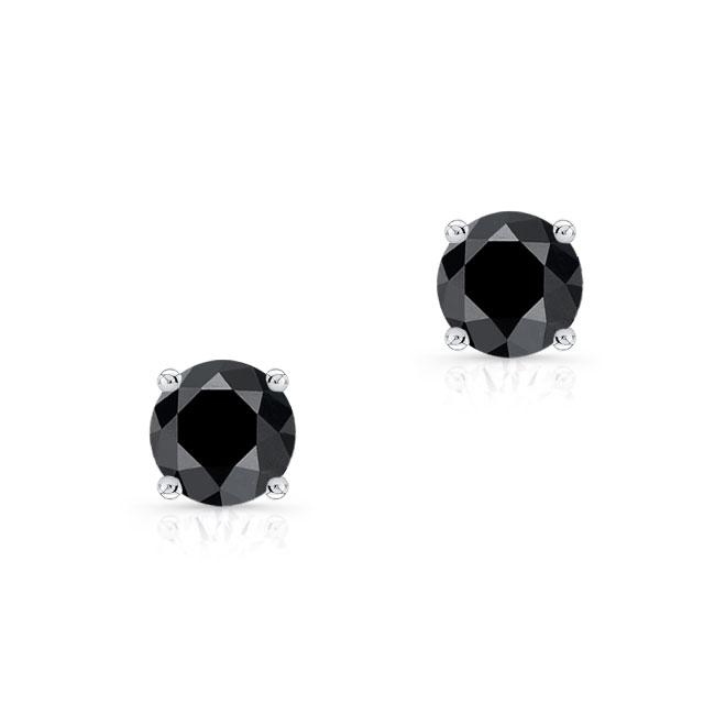 1.00ct. Black Diamond Studs BK-8098ER100 Image 1