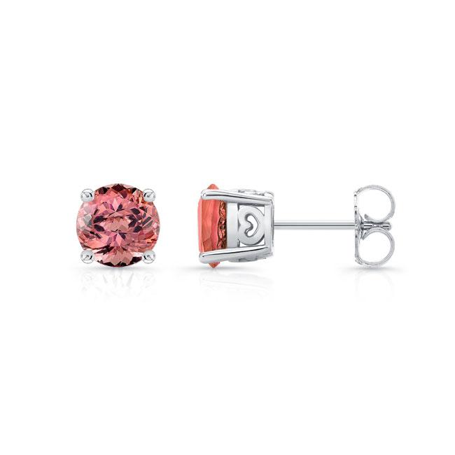 1.00ct. Pink Tourmaline Studs PT-8098ER100 Image 2