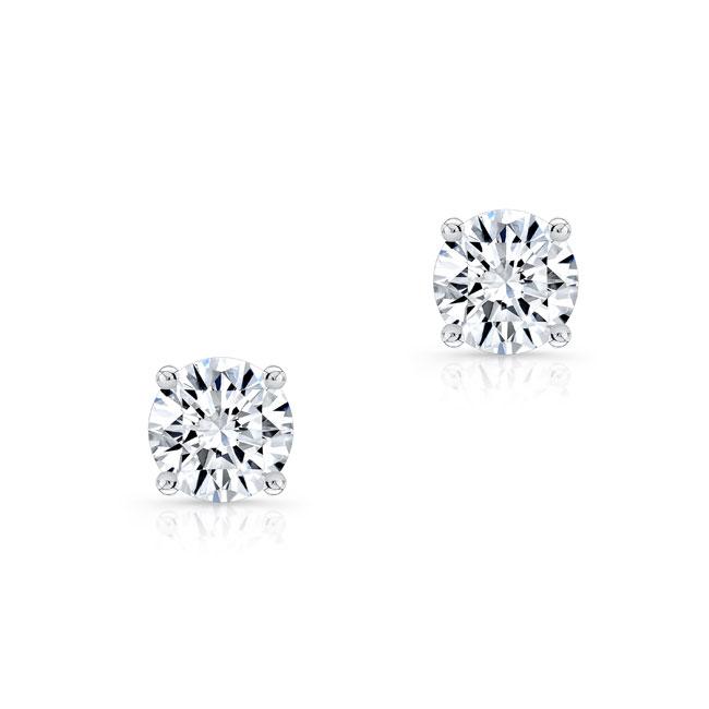 1.00ct. Diamond Studs 8098ER100 Image 2