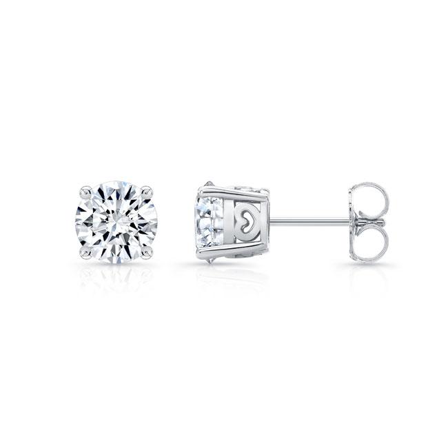 1.00ct. Diamond Studs 8098ER100 Image 1