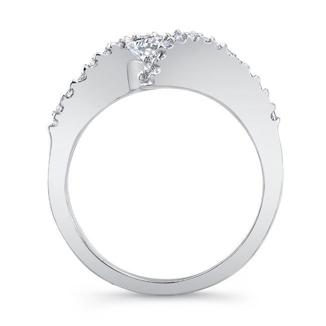 Princess Cut Diamond Engagement Ring 5921L Image 2