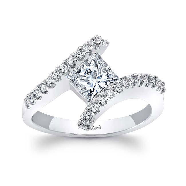 Princess Cut Diamond Engagement Ring 5921L Image 1