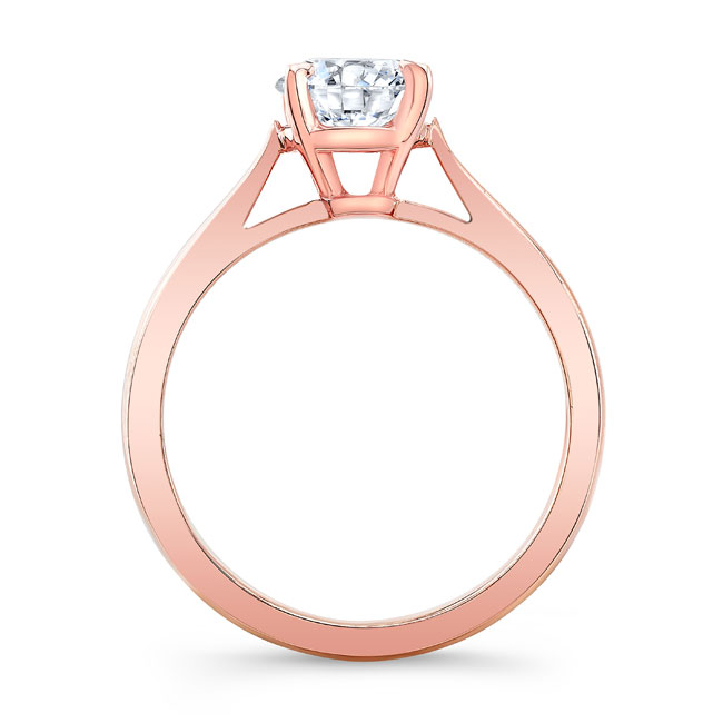 Moissanite Solitaire Engagement Ring MOI-5990L Image 2