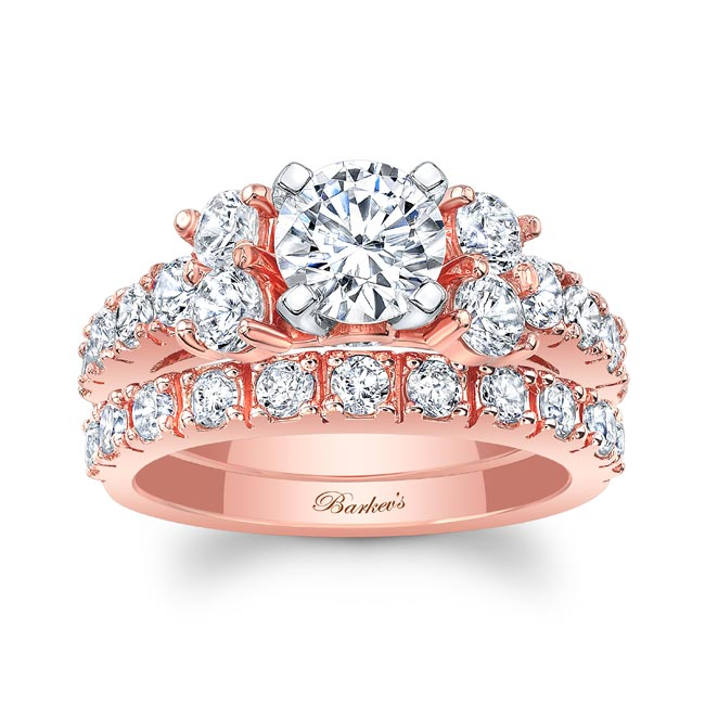 Unique Diamond Bridal Set
