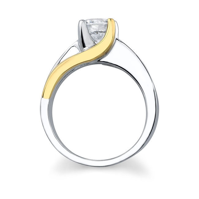 Solitaire Engagement Ring 6819L Image 2