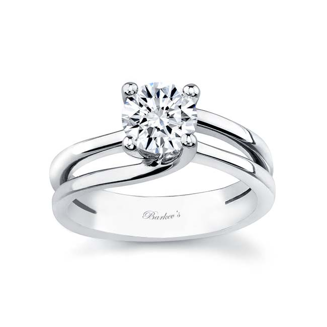 Solitaire Engagement Ring 6884L Image 1