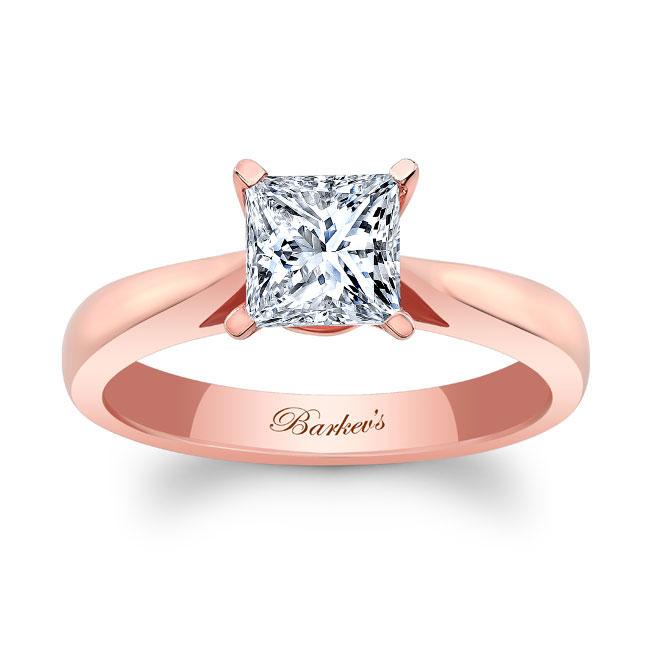 Princess Cut Solitaire Engagement Ring 7062L