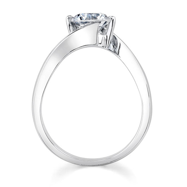 Moissanite Solitaire Engagement Ring MOI-7499L Image 2
