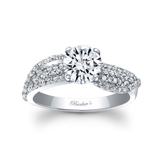 Unique Diamond Engagement Ring 7690L Image 1