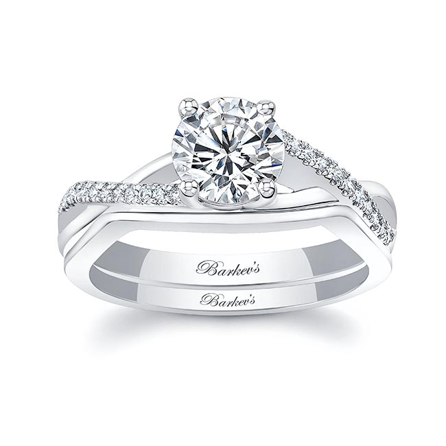 Gold Diamond Bridal Set