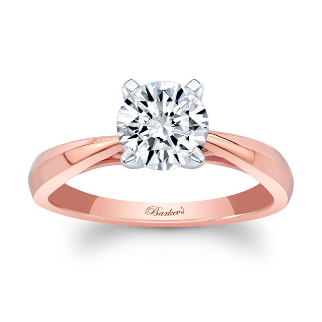 Simple Solitaire Engagement Ring 7731L