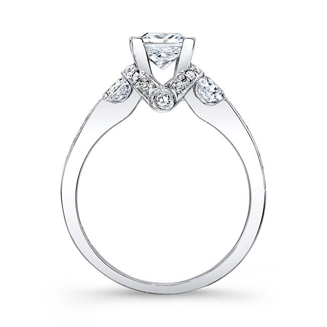 Princess Cut Engagement Ring 7832L Image 2