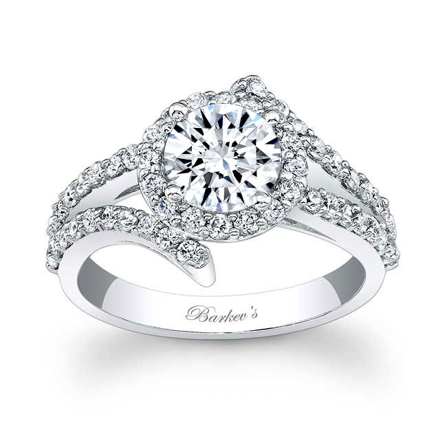 Contemporary Engagement Ring Image 1