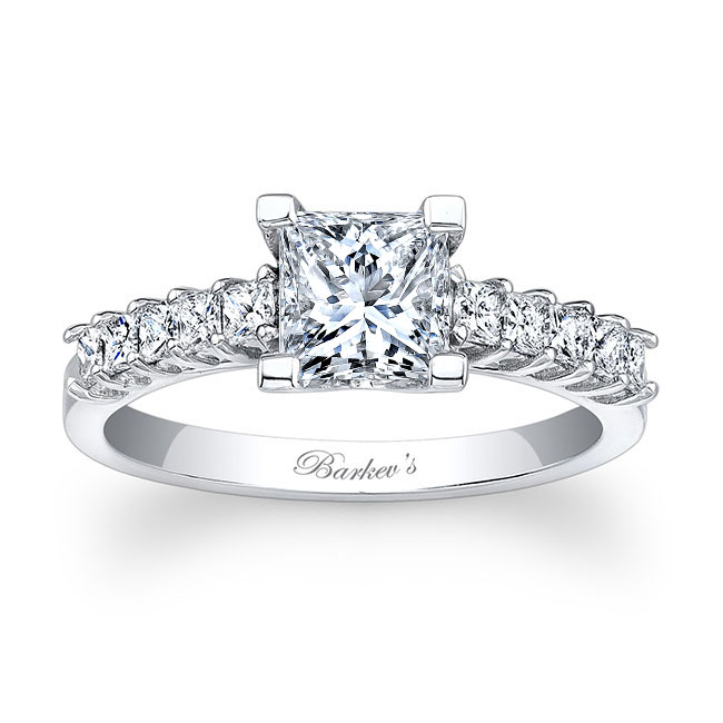 Princess Cut Engagement Ring 7860L Image 1