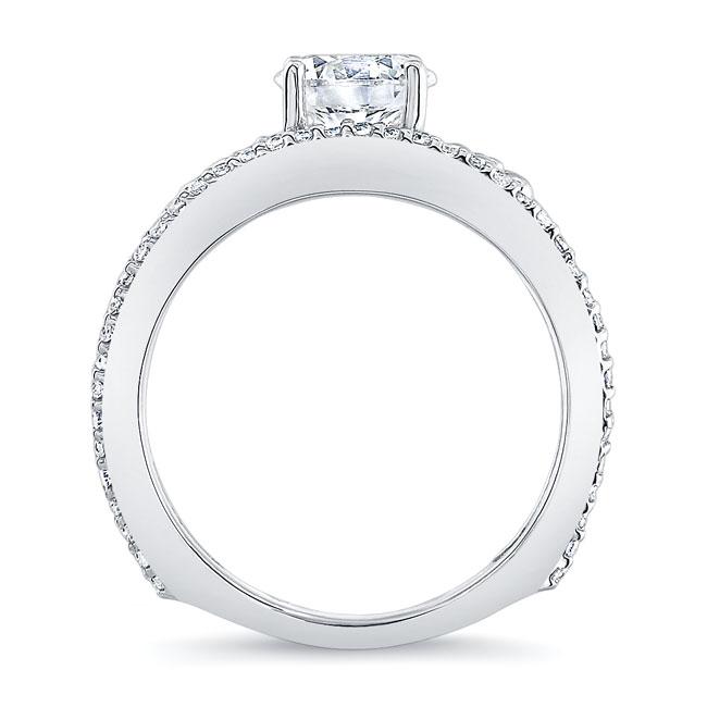 Vintage Floral Engagement Ring Image 2
