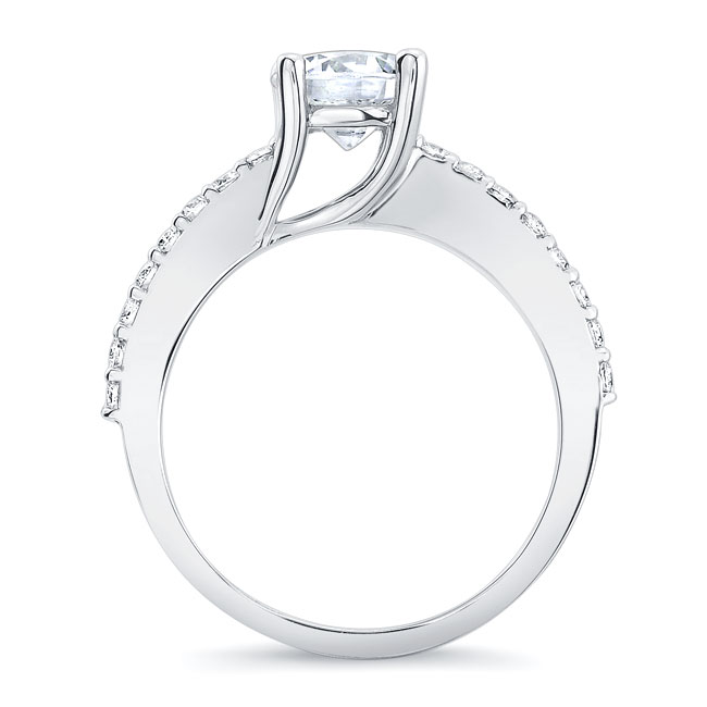 4 Prong Engagement Ring Image 2