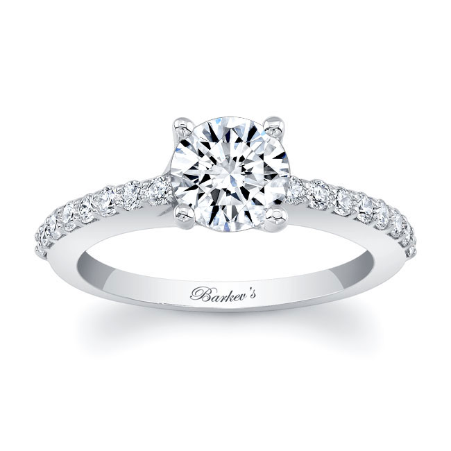 4 Prong Engagement Ring Image 1