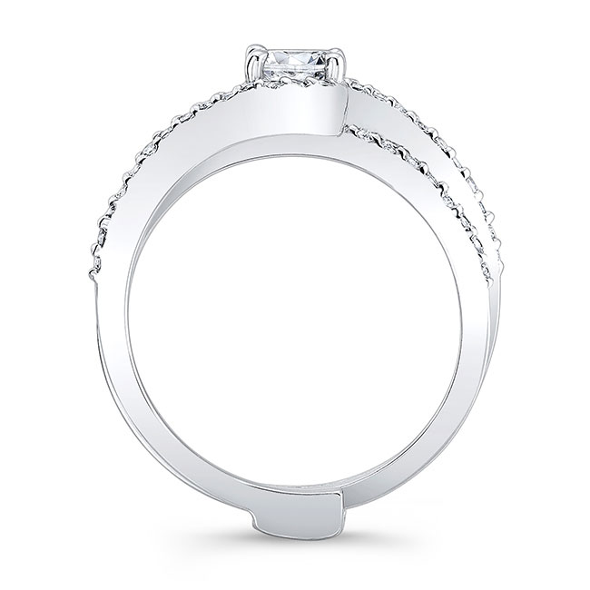 Moissanite Bridal Set MOI-7907S Image 2