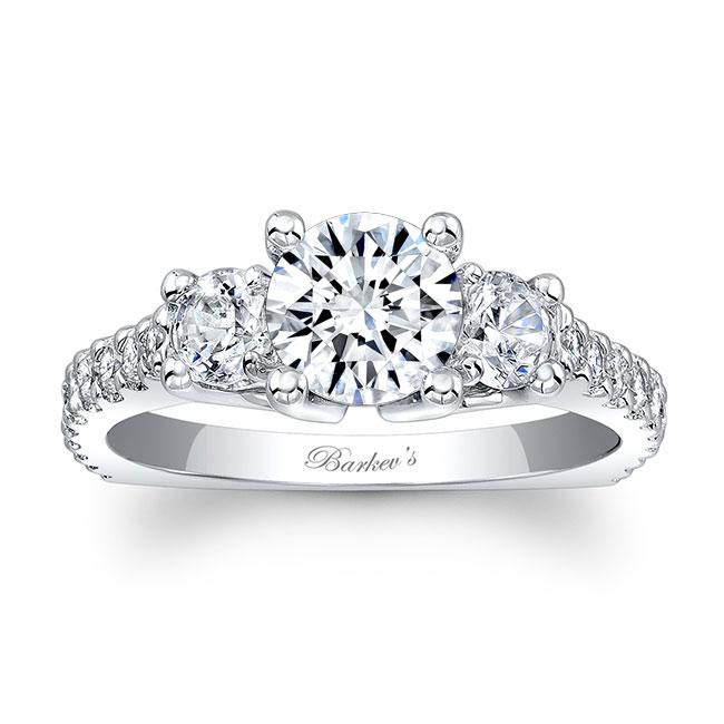 Three Stone Engagement Ring 7925L Image 1