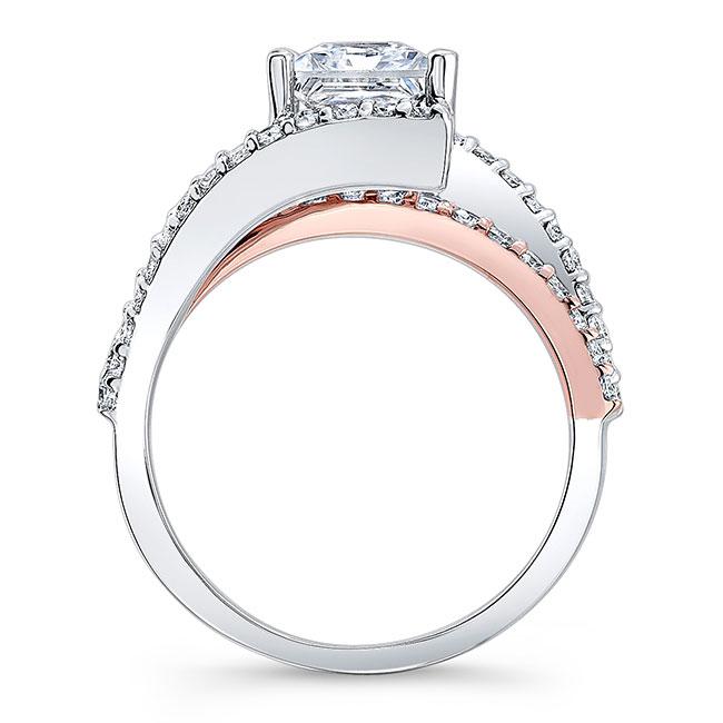 Split Shank Princess Cut Engagement Ring Image 2