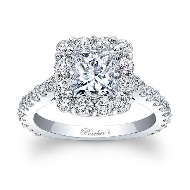 Princess Cut Engagement Ring 7939L Image 1