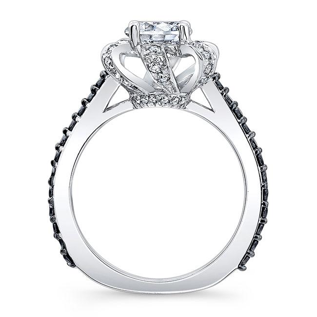 Black Diamond Engagement Ring 7958LBK Image 2