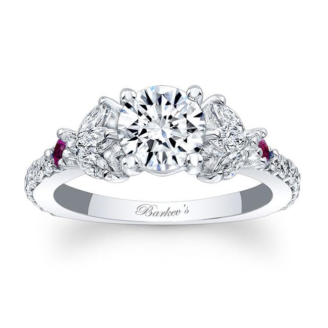 Unique Engagement Ring 7966LPS Image 1