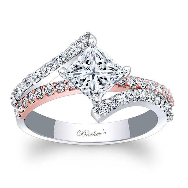 Kite Set Engagement Ring Image 1
