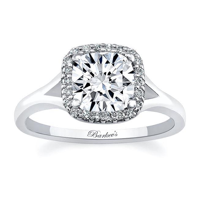 Cushion Cut Engagement Ring 7999L Image 1