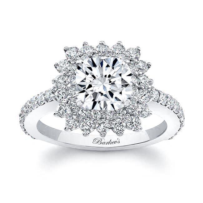 Cushion Cut Engagement Ring 8001L Image 1