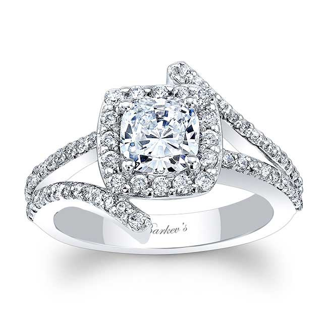 Cushion Cut Engagement Ring 8005L Image 1