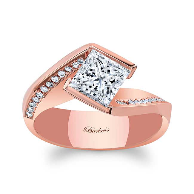 Vintage Bypass Moissanite Ring Image 1