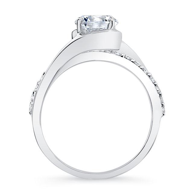 Simple Unique Engagement Ring Image 2