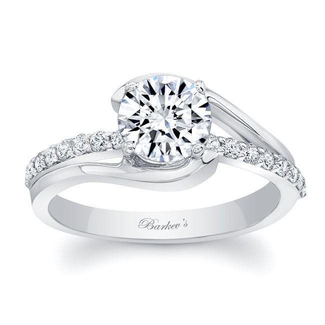 Simple Unique Engagement Ring Image 1