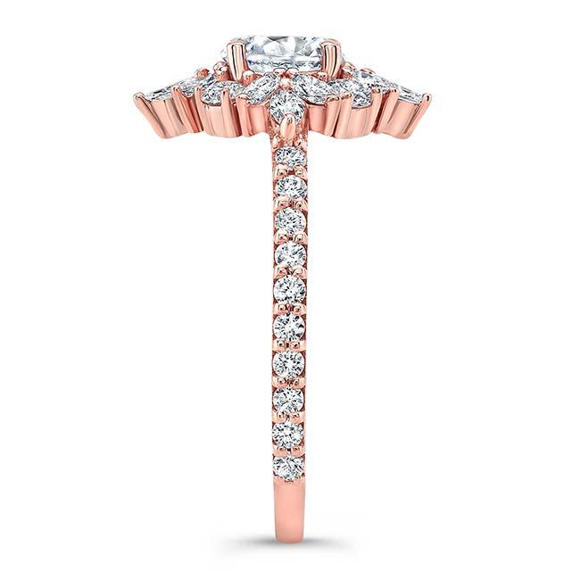 Marquise Halo Engagement Ring Image 3