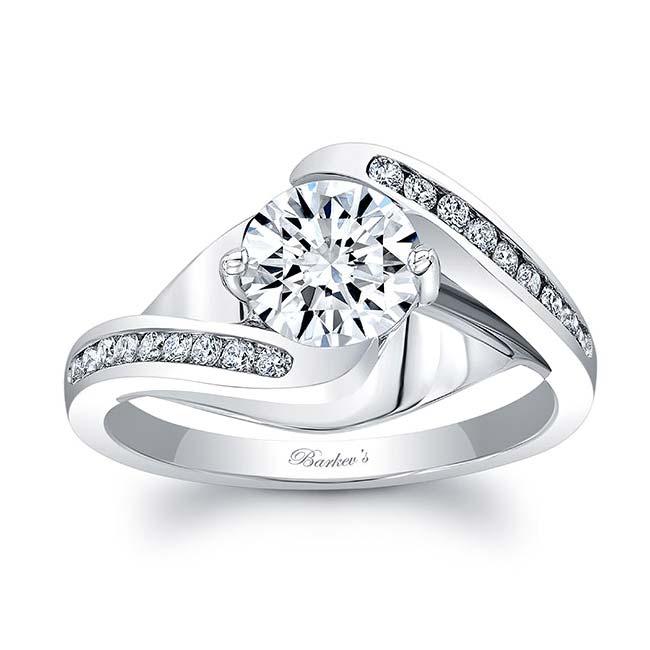 Split Shank Cathedral Engagement Ring 8069L Image 1