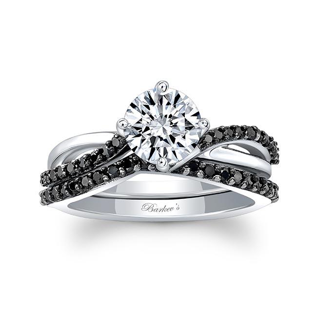 Black Diamond Twist Bridal Set Image 1