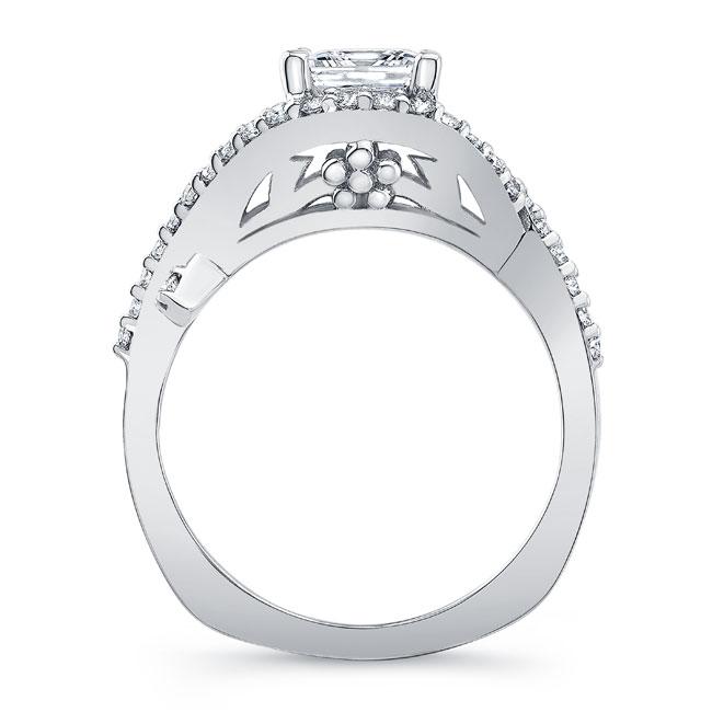 Princess Cut Engagement Ring 8081L Image 2