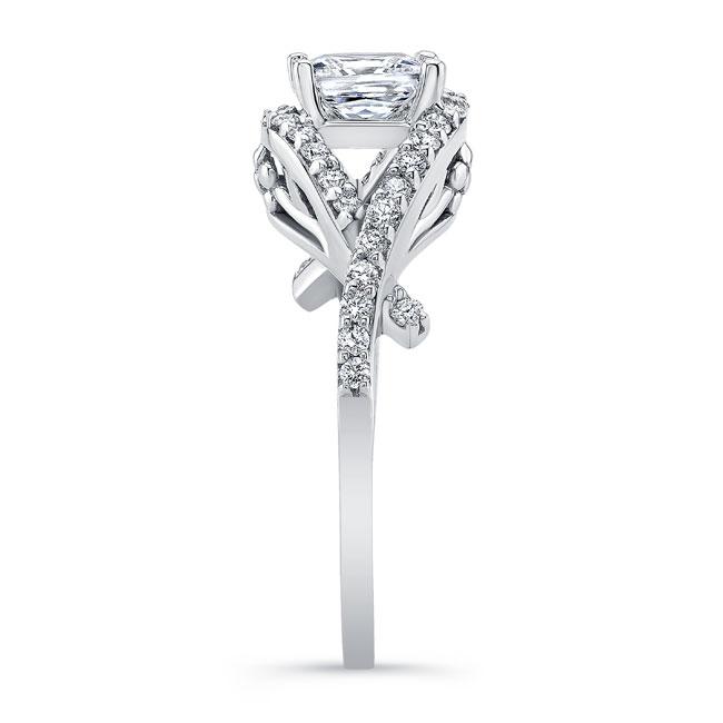 Princess Cut Engagement Ring 8081L Image 3