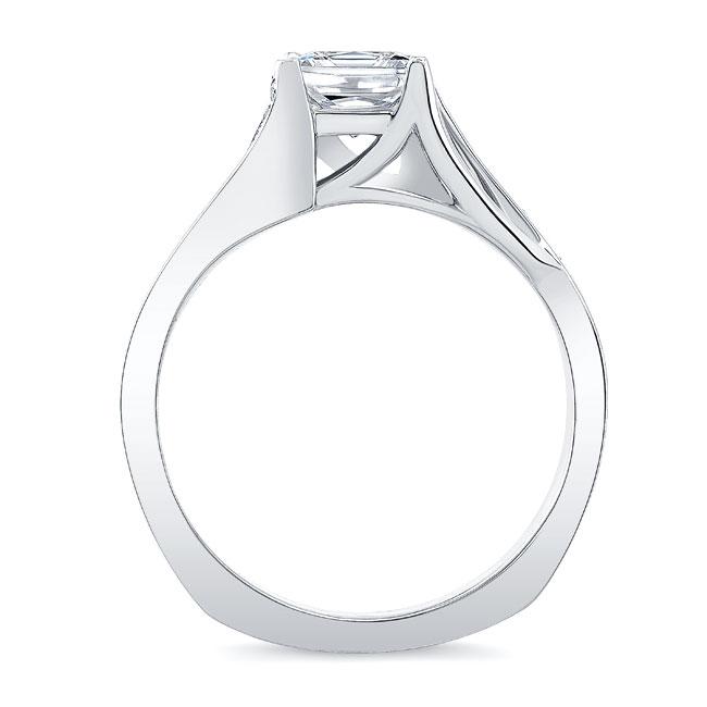Princess Cut Engagement Ring 8091L Image 2