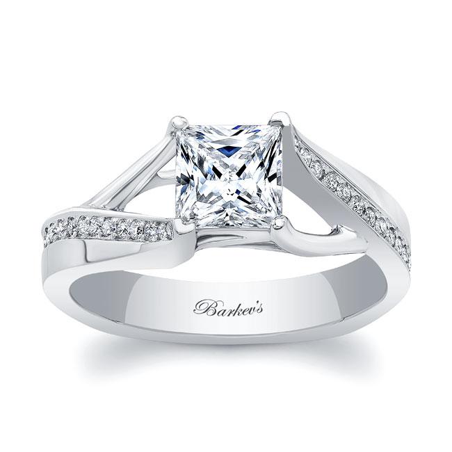 Princess Cut Engagement Ring 8091L Image 1