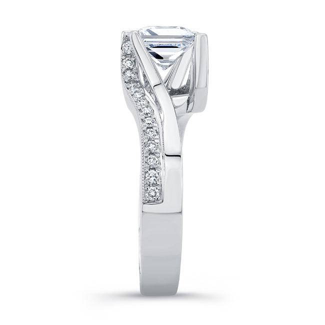 Princess Cut Diamond Engagement Ring 8130L Image 3