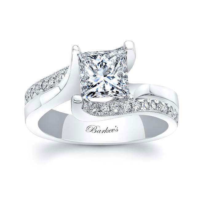Princess Cut Diamond Engagement Ring 8130L Image 1