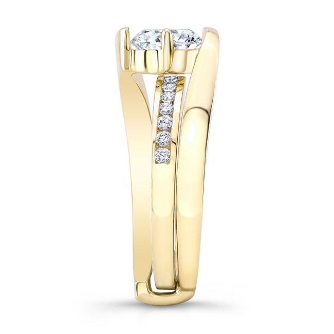Diamond Bridal Set 8135S Image 3