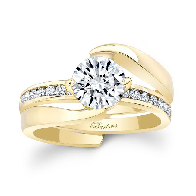 Diamond Bridal Set 8135S Image 1