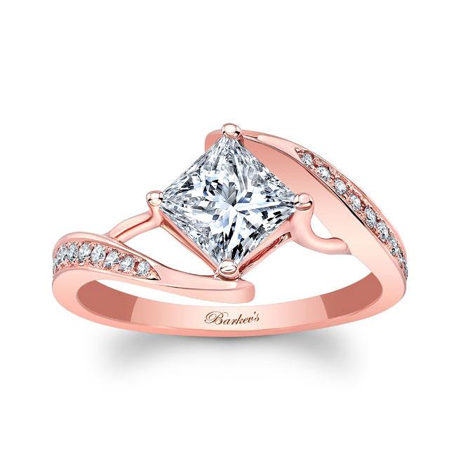 Unique Princess Cut Ring Image 1