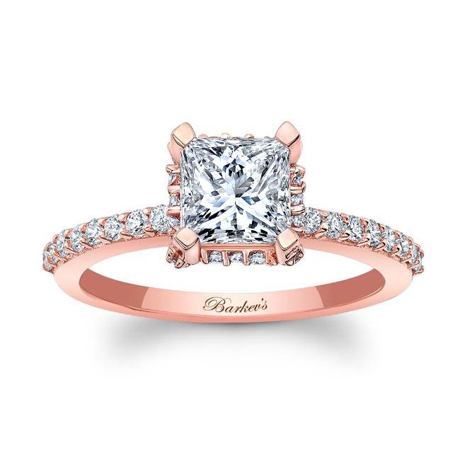 Princess Cut Diamond Engagement Ring 8158L Image 1